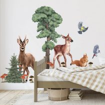 lesne-zwierzeta-2--naklejka.-naklejka-dla-dzieci.-dekoracje-pokoju (1)