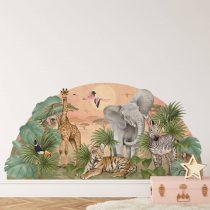 safari--naklejka.-naklejka-dla-dzieci.-dekoracje-pokoju (2)